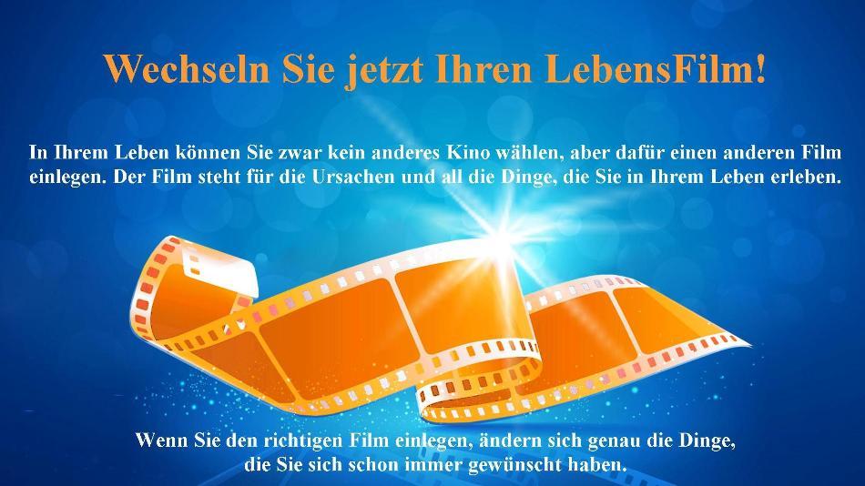 Das Zellbewusstsein verändern - FilmWechsel® Grundkurs