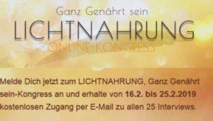 Lichtnahrung Online-Kongress mit Katalin Fay